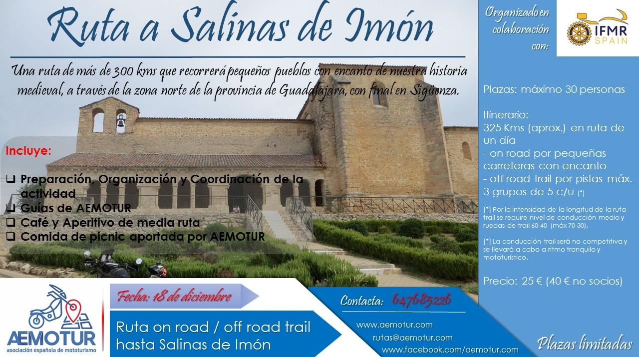 Ruta a Salinas de Imón