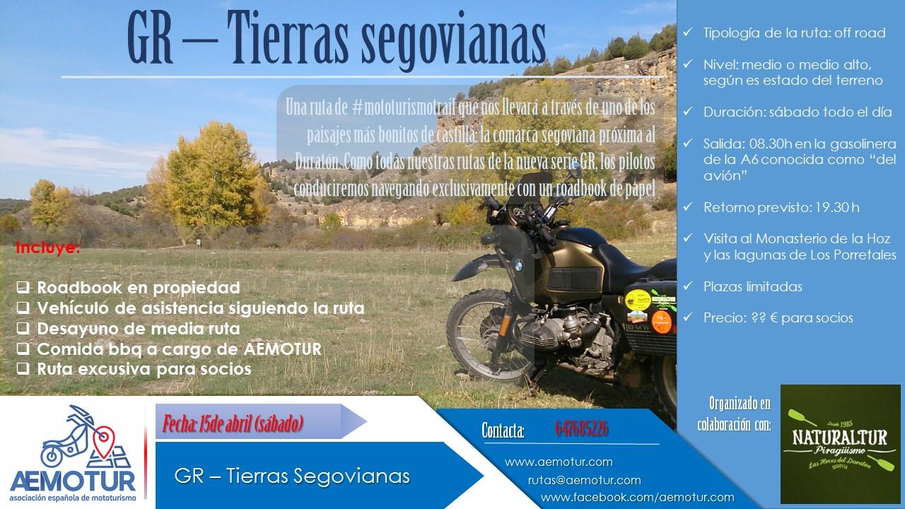 GR Tierras Segovianas